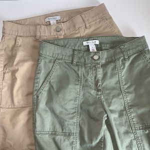 WHBM | Bundle of 2 Crop Pants